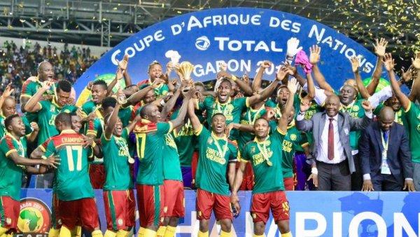 hymne aux lions indomptable du Cameroun