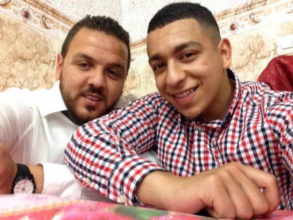 moi avec mon cousin