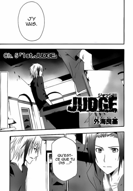 Judge - Tome 1 - Chap 5