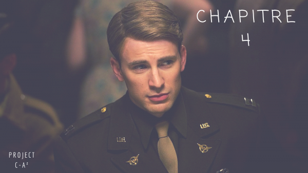 Typographie Captain America - Commande