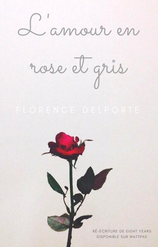 L'amour en rose et gris - Couverture Wattpad