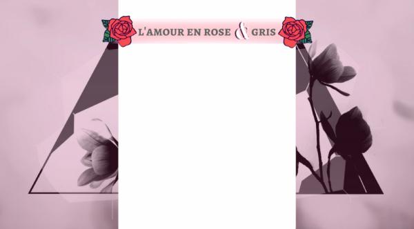 Habillage - L'amour en rose et gris