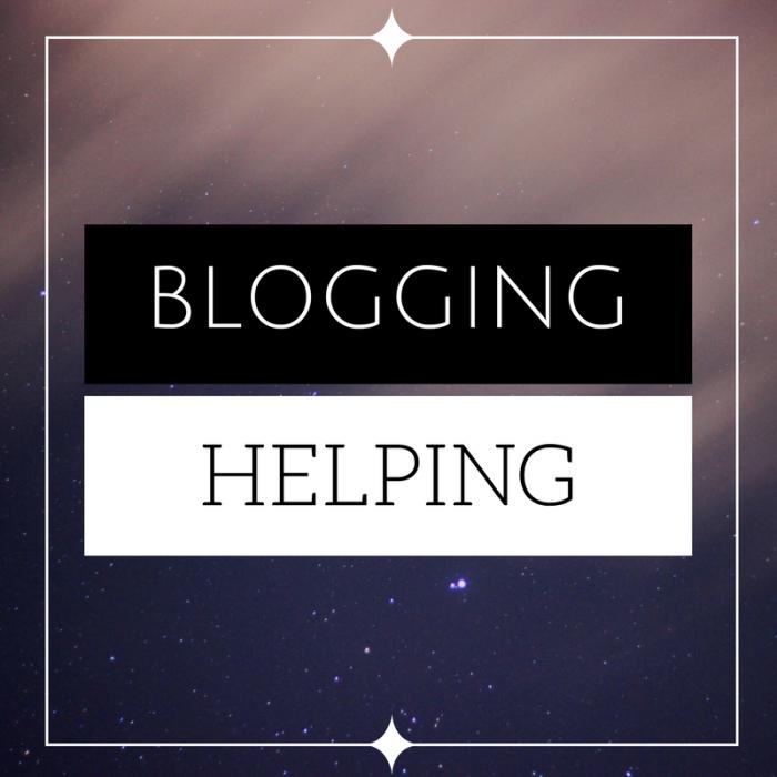 Blogging Helping