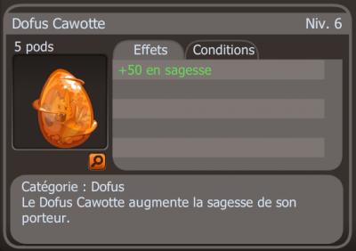 Par Squall : Dofus cawote