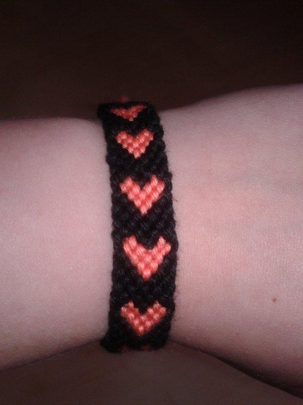 Le bracelet brésilien coeur <3