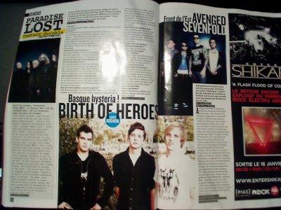 article dans my rock de décembre