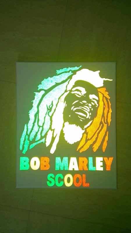 toile sticker bob marley 25euro