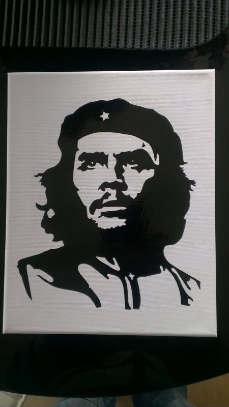 toile sticker che guevara 25euro
