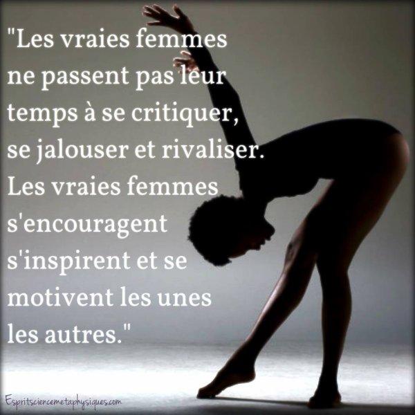Les vraies femmes .......
