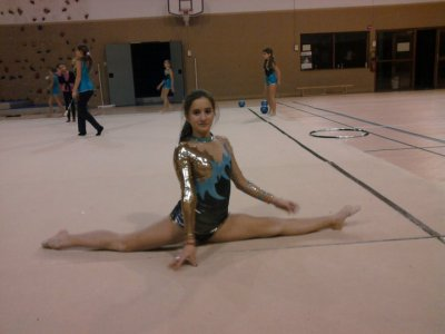La gymnastique rythmique ma passion !