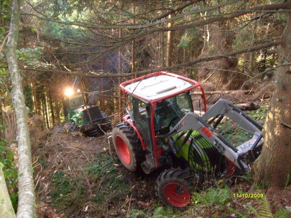 tracteur forestier debardage