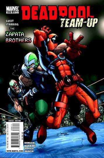 Deadpool team-up : Salut les copains !