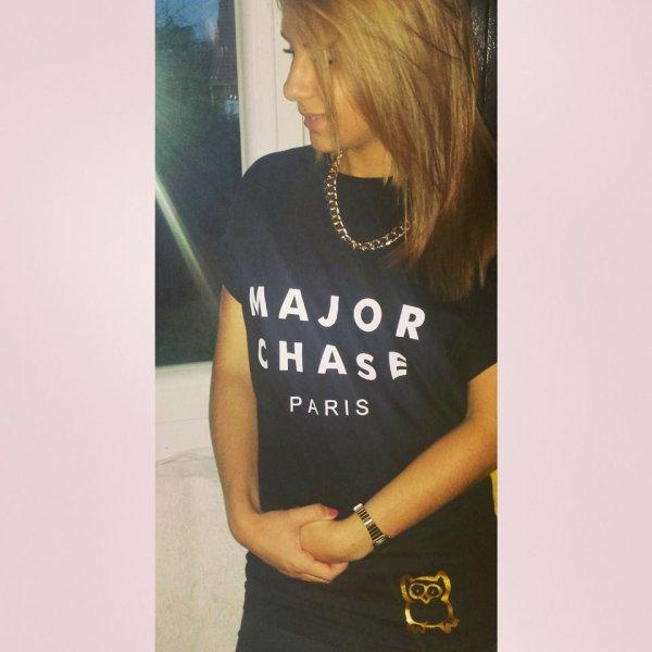 #Major Chase  et oui pour femme aussi ;)