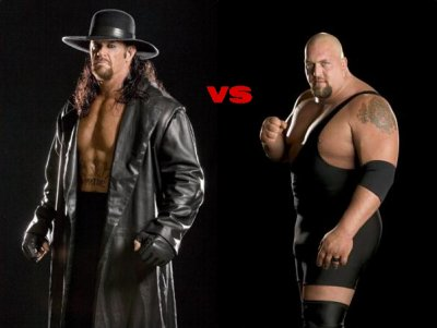big show vs undertaker