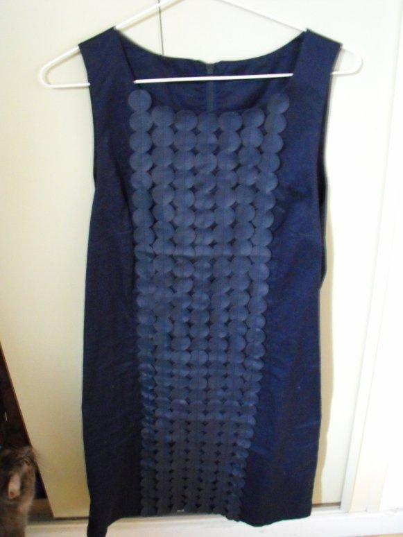 Robe bleue marine bulle de Vero Moda