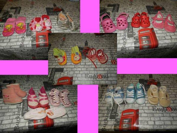 chaussures filles et garçons