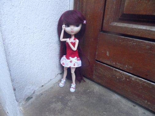 Lucie dehors