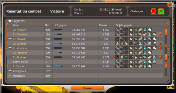 Record d'xp ce Week-end x2