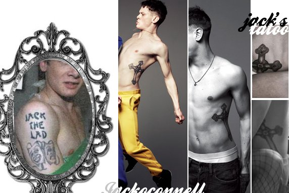 *Les tatouages de Jack O'connell, a voir de plus près ! *