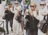 Mary-Kate Olsen et Ashley Olsen allant payer la visite au bureau d'un médecin sur l'Upper East Side à Manhattan.