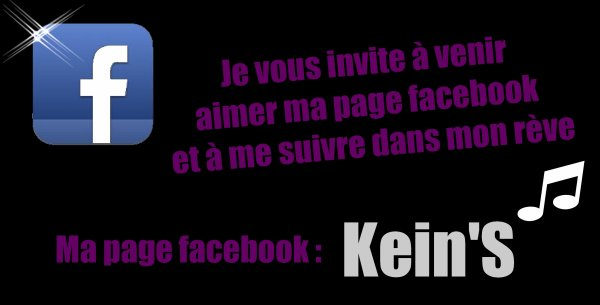 Page Facebook : Kein'S