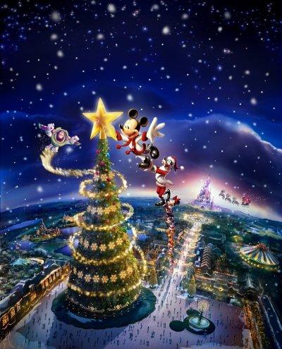 Un Noël Enchanté à Disneyland Paris