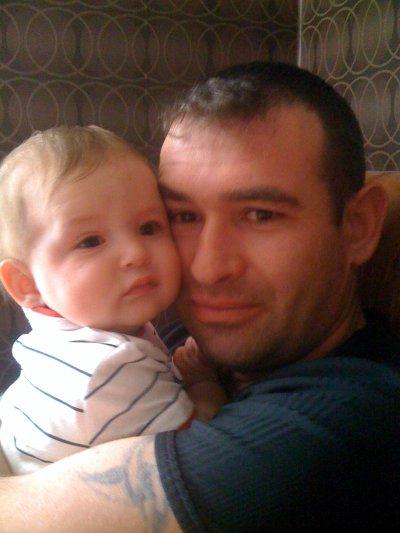 Mon homme et son fils que j'aime trés fort
