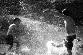 Bataille d'eau ! ♥