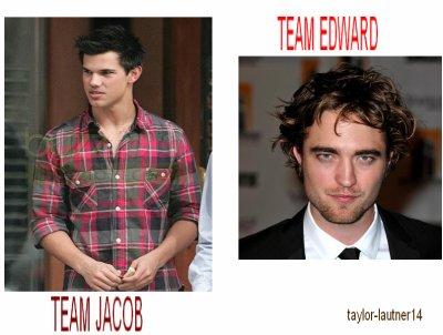 team edward ou  team jacob