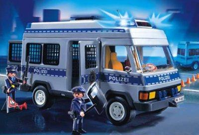 playmobil polizei fourgon 4022