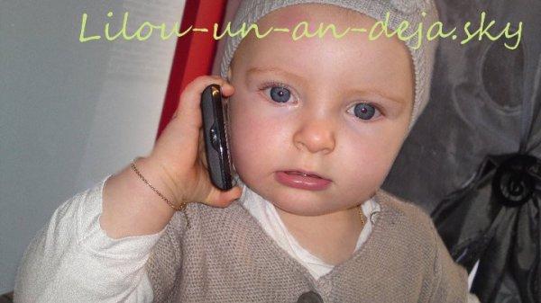 Quand Lilou avait un an