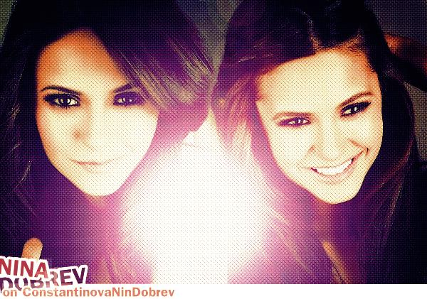 . Bienvenue sur ta nouvelle source ★ Sur la talentueuse Nina Dobrev.  .