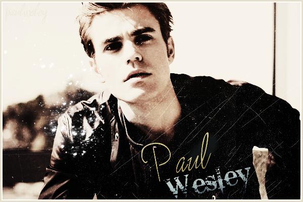 Bienvenue sur ta source sur le Magnifique  Paul Wesley