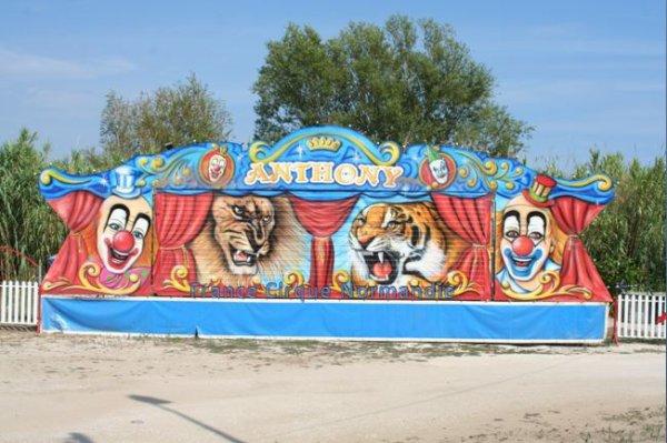Cirque Anthony dans le var LE LAVANDOU été 2016