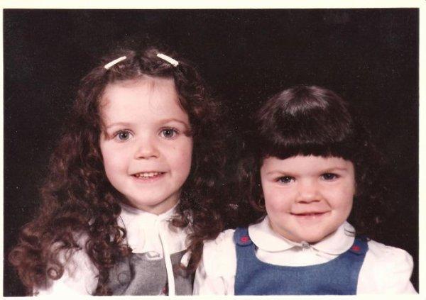 pour toi ma soeur devenue ange amandine 4 anset moi 2ans et demi