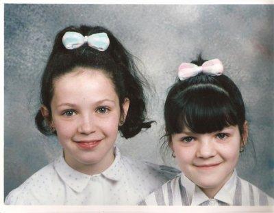 ma soeur amandine devenue ange elle avait 11 ans et moi 9 ans et demi