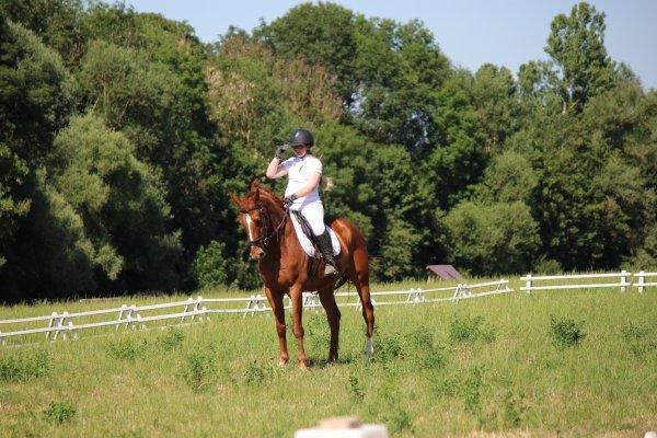 4° manche des challenges (21 Juin 2014) avec  Uno de Moncel.