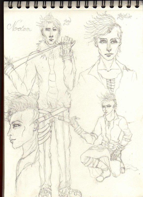 Enfin du nouveau !  Car ,les portraits se faisant rares cette année, je pense faire quelques personnages pour changer .