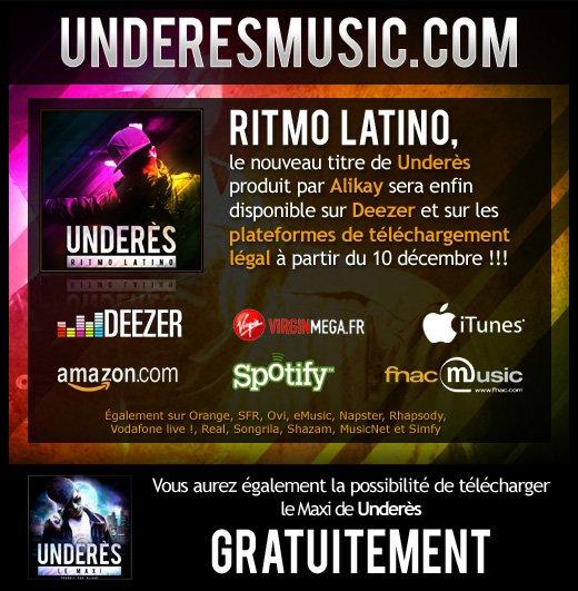 underesmusic.com la page web officielle de Underès en ligne!