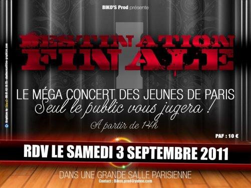 Les Black Swagg sur scène le Samedi 3 Septembre à L'espace Reuilly ( Paris ) pour le concert des Jeunes Talents de Paris Venez nombreux !!!