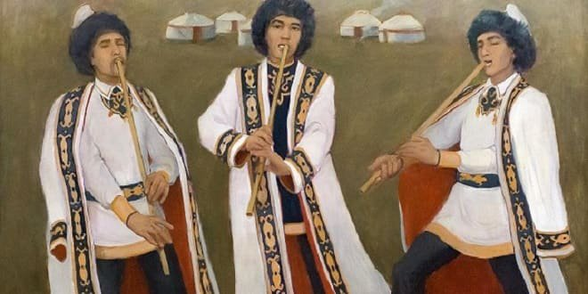 Quraï, l'instrument de musique traditionnels des Bachkirs et des Tatars