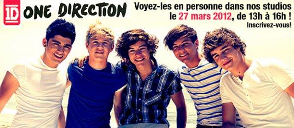 One Direction a Montréal