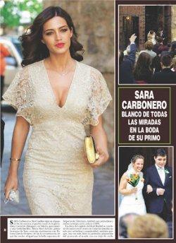 Sara au mariage de son frêre