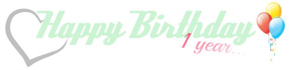 Joyeux anniversaire mon coeur.. ♥