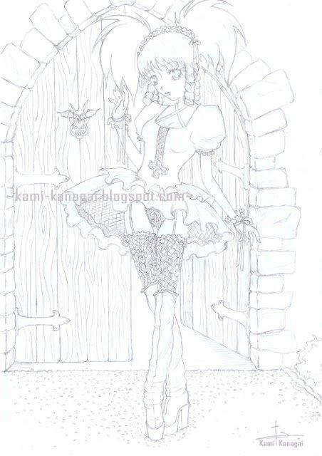Articles De Kami Kanagai Tagges Gothic Lolita Mes Creations