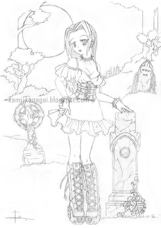 Articles De Kami Kanagai Tagges Dessin Au Crayon Mes Creations