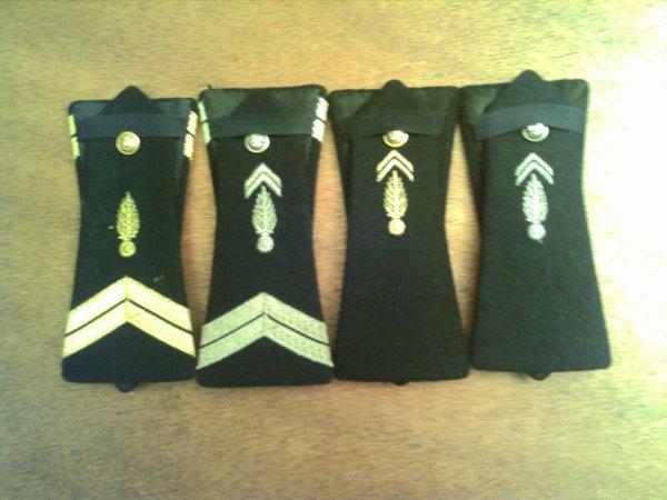 Epaulettes gendarmerie