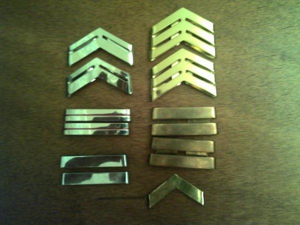 Galons métallique