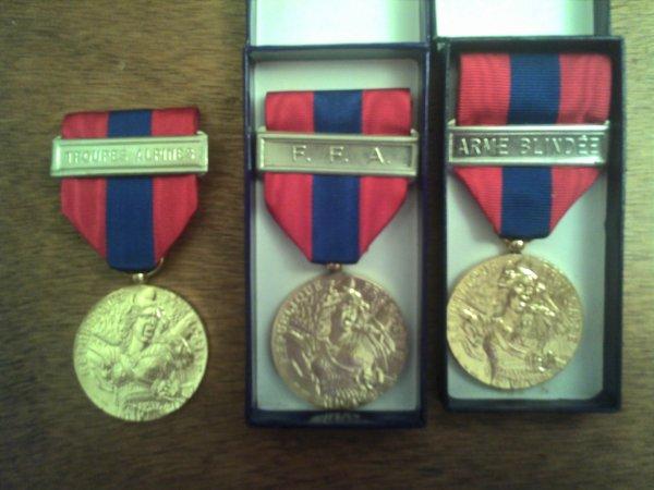 Médaille de défense nationale.