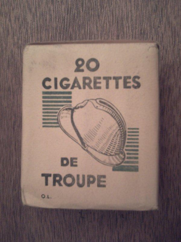 PAQUETS DE CIGARETTES.